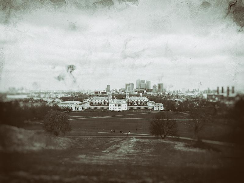 Greenwich, Blick nach London